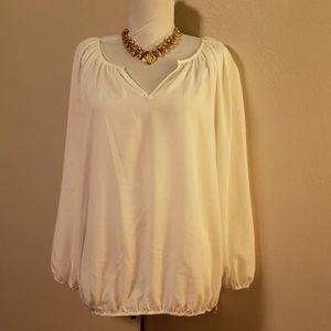Chico's white blouse. Size 2x